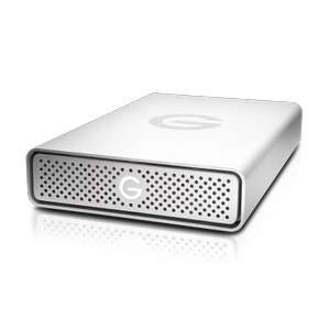 Disque Dur Externe WD G-Technology G-Drive - 4 To, USB-C 3.1, 195 Mo/s