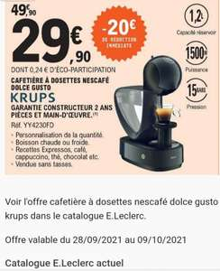 Cafetière à capsules Krups Dolce Gusto Infinissima YY4230FD