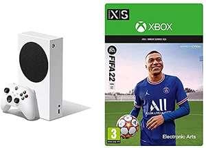 Console Microsoft Xbox Series S - 512Go + FIFA 22 (Dématérialisé)