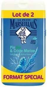 Lot de 2 gels douche Le petit marseillais 2 x 250ml - Differents parfums (via 2.13 € sur carte de fidélité)