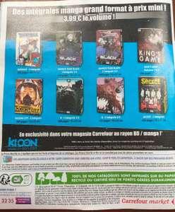 Sélection de manga format Intégral Ki-oon à 3,99€