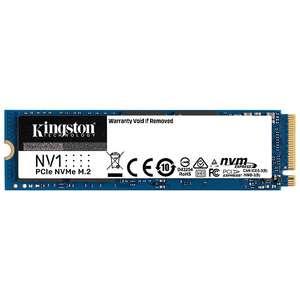 Sélection de SSD Kingston NV1 en promotion - Ex : Kingston NV1 - 500 Go