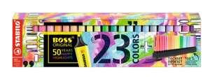 Set de 23 stabilos Boss Original (Via 13.93€ sur Carte Fidélité)