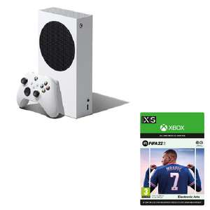 [Adhérents] Console Xbox Series S + FIFA 22 (Dématérialisé) + 20€ de chèque cadeau