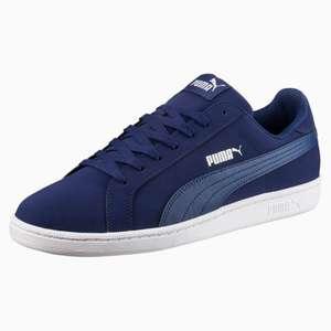 Chaussures Puma Smash Buck - bleu ou noir (du 39 au 45)