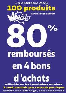 80% remboursés en 4 bon d'achats sur une sélection de produits - St Loup et Aubagne (13) Ex: Game & Watch: Super Mario Bros. à 8.39€