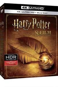 Coffret Blu-Ray 4K Harry Potter Collection 8 Films - 4K UHD (Sans VF sur 3 films)