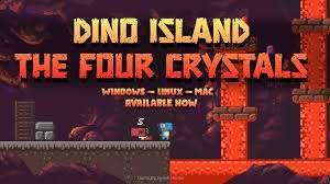 Dino Island - The Four Crystals gratuit sur PC, Mac & Linux (Dématérialisé - DRM-Free)