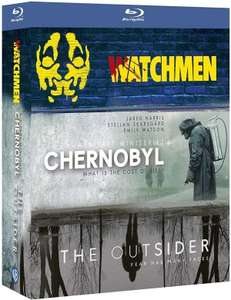 Coffret 3 Séries Blu-Ray - Chernobyl + The Outsider + Watchmen (bluecatscollectibles.com)