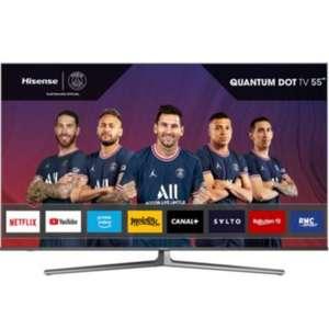 "TV 55"" QLED Hisense 55U8GQ - 4K UHD, HDR, 100 hz"