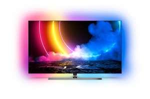 TV 65' PHILIPS 65OLED856 - OLED 4K UHD, HDR, 100 Hz, HDMI 2.1, Ambilight 4 Côtés, Dolby Vision & Atmos + 90€ en carte cadeau