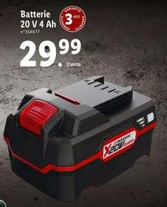 Batterie Parkside X20V Team 4Ah