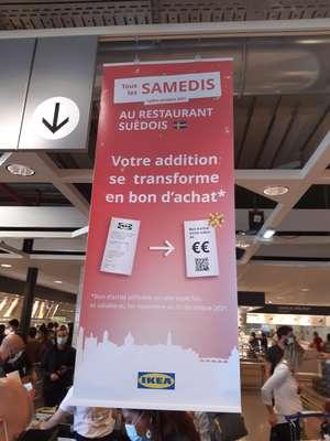 [Les Samedis] Addition restaurant remboursée en bon d'achat utilisable en magasin - Roques-sur-Garonne (31)
