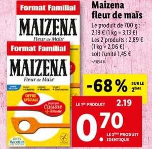 Lot de 2 boîtes de Maïzena - Format familial (700g)