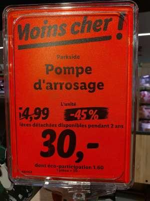 Pompe d'arrosage Parkside - Le Mesnil-en-Thelle (60)