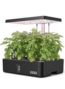Potager d'intérieur iDOO - avec LED, 12 pots (Vendeur tiers - via coupon)