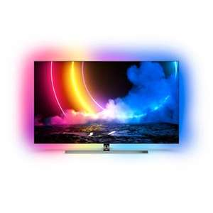 """TV 55"""" PHILIPS 55OLED856 - OLED 4K UHD, HDR, 100 Hz, HDMI 2.1, Ambilight 4 Côtés, Dolby Vision & Atmos"""