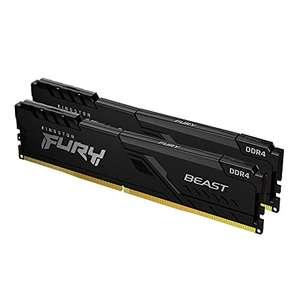 Kit Mémoire RAM DDR4 Kingston Fury Beast 32 Go (2 x 16 Go) - 3600 MHz, CL18