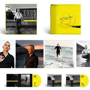 Coffret Eros Ramazzotti - Vita Ce N'È : 2 CD + Vinyle dédicacé + photos (vendeur tiers)