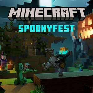 Skins d'Halloween offerts sur Minecraft et Minecraft Dungeons (Dématérialisés)