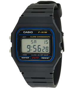Montre homme Casio Collection F-91W-1YER