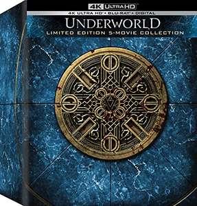 Underworld Collection Coffret Blu-ray 4K : inclus les 5 films (Import US, frais d'importation inclus)
