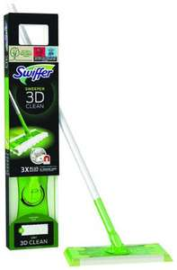 Balai dépliant Swiffer Balai 3D Clean + 4 recharges (Via bdr de 2.50€)