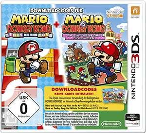 Mario & Donkey Kong Minis On The Move + Mario vs Donkey Kong Le Retour des Minis sur Nintendo 3DS (code de téléchargement dans la boite)