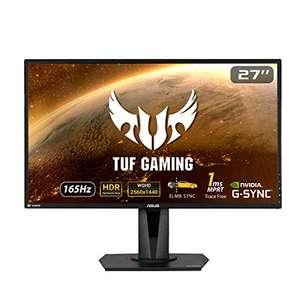 """Écran PC 27"""" Asus TUF Gaming VG27AQ - WQHD, Dalle IPS, HDR, 165 Hz, 1 ms, FreeSync"""