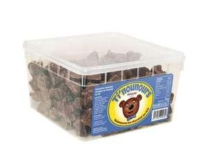 Boîte de chocolats guimauves Oursons Ti'Nounours - Blancs ou noirs (1 kg)