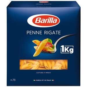 Lot de 2 paquets de 1kg de pâtes Barilla - Variétés au choix, (2 x 1kg)