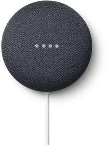 Assistant vocal Google Nest Mini - coloris Charbon ou Galet