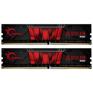 Kit Mémoire RAM DDR4 G.Skill Aegis 16 Go (2x 8 Go) - 3000 MHz, CL16