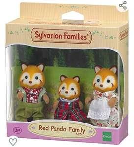 Lot de 3 Figurines Sylvanian Families 5215 - Les Pandas Roux