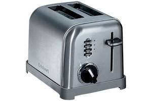 Grille pain Cusinart CPT160E - 2 fentes, 900 Watts
