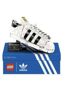Jeu de construction Lego Ensemble Adidas Originals Superstar 10282