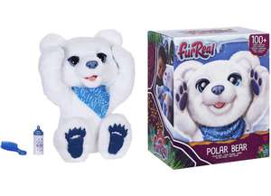 Peluche Interactive FurReal Friends - Cubby l'ours polaire