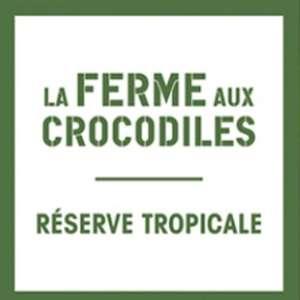 50% de réduction sur les billets à la Ferme aux Crocodiles - Ex : Billet Adulte - Pierrelatte (26)