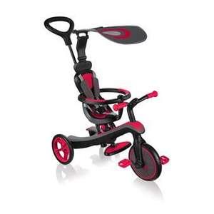 Tricycle Globber Trike Explorer - 4 en 1, Rouge