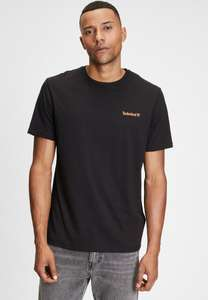 T-shirt 100% coton Timberland Small Logo pour Homme - Différents coloris, Tailles S à 3XL (Vendeur tiers)