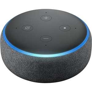 Sélection d'assistants vocaux en promotion - Ex : Enceinte connectée Echo Dot (3e génération) avec Alexa (Vendeur Boulanger)