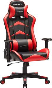 Chaise gaming SONGMICS RCG062B01 - Rouge (Vendeur Tiers)