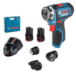Perceuse-visseuse sans fil Bosch GSR 12V-15 FC + Coffret + 2 batteries