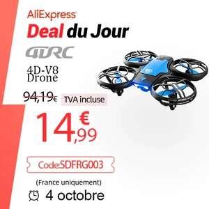 Mini Drone 4DRC V8 professionnel 4k - Caméra HD grand Angle 1080P, WiFi fpv