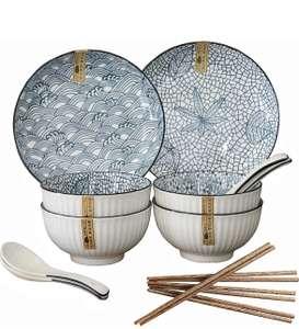 Service de table vaisselle japonaise - 14 pièces (vendeur tiers)