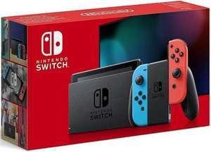 Console Nintendo Switch avec paire de Joy-Con Rouge Néon et Bleu Néon (via 30€ en bon d'achat) - Clichy-sous-Bois (93)