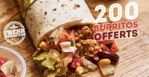 1 burrito offert le 12 octobre (200 premiers) - Fresh Burritos Nice (06)