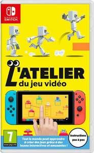 L'Atelier du Jeu Vidéo sur Switch (version boîte avec cartouche)