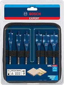 Coffret de 6 mèches plates Bosch Professional Expert SelfCut Speed - Ø 14-24 mm