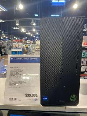 PC fixe HP Pavilion TG01-2000nf - i5-11400F, 16 Go RAM, 256 Go SSD + 1 To HDD, RTX 3060 Ti, Windows 10 - Tourlaville (50)